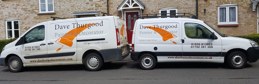 Sherborne Decorators Vans